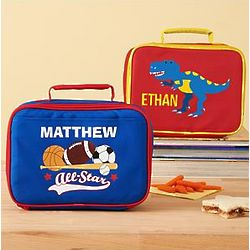 Boy's Personalized Create Your Own Lunchbox