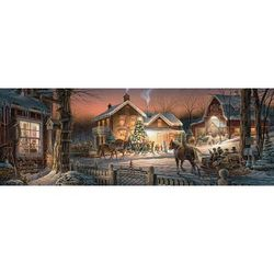 Trimming The Tree Panoramic Puzzle