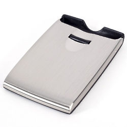 Stainless Steel Roller Business Card Case