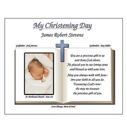 Personalized Baptism / Christening Prayer Poem Print