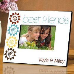 Personalized BFF Bouquet Picture Frame