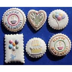 Springerle Birthday Cookies Gift Tin