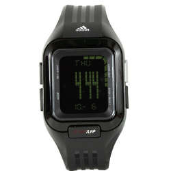 All Black Adidas Fitness Control II Watch