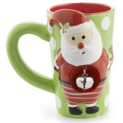 Santa Jingle Latte Mug