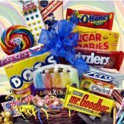 Blast from the Past Gift Basket