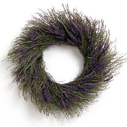 Preserved Lavender Wreath