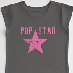 Pop Star Girl's T-Shirt