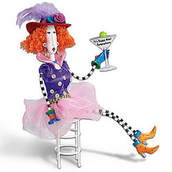 It's Happy Hour Somewhere! Poseable Dolly Mama