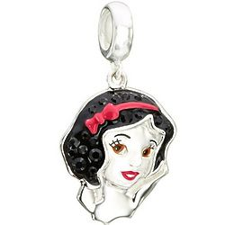 Disney's Snow White Charm in Sterling Silver