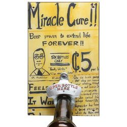 Miracle Cure Bottle Opener