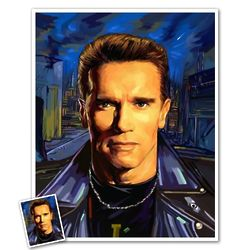 Arnold Schwarzenegger Pop Art Print