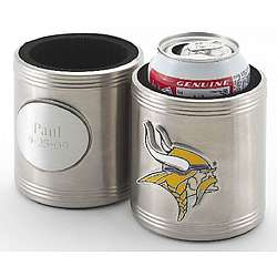 Personalized NFL Can Holder