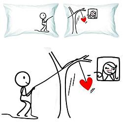 Thinking Of You Couple Pillowcase Set Findgift Com