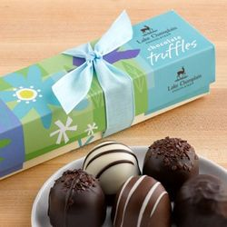Spring Chocolate Truffles