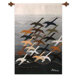 'Flying High' Wool Tapestry