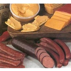 Nueske Meat and Cheese Snack Assortment Gift Box