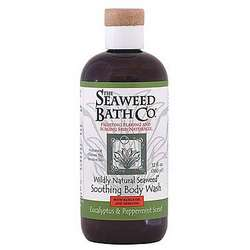 Eucalyptus and Peppermint Wildy Natural Seaweed Body Wash