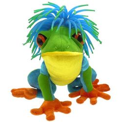 Frizz the Red-Eyed Tree Frog Plush Toy