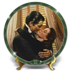 Gone With The Wind You Should Be Kissed Collector's Plate