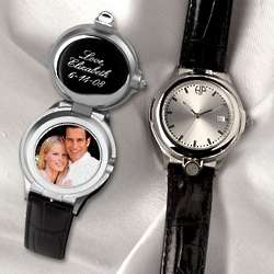 Personalized Locket Watch