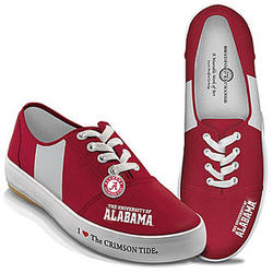 Crimson Tide Canvas Women's Shoes