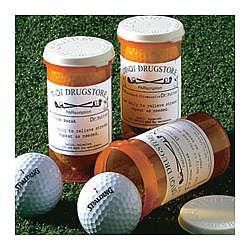 Personalized Par-Scription Golf Ball Set