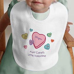 Little Valentine Infant Bib