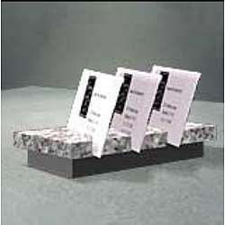 Rectangular ArcStand Business Card Holder