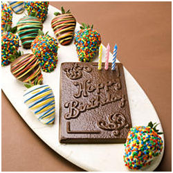12 Birthday Berries & Sweet Happy Birthday Card