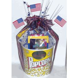 4th of July Movie Madness Gift Basket