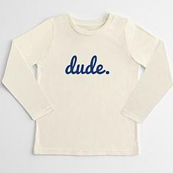 Kid's Dude Long Sleeve T-Shirt