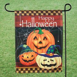 Happy Halloween Garden Flag