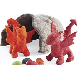 Dragons and Cave Play Set