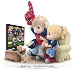 Every Day is a Touchdown with You Houston Texans Figurine
