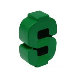 Dollar Sign Stress Toy