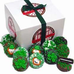 One Dozen Belgian Chocolate St. Patrick's Day Oreos® Gift Box
