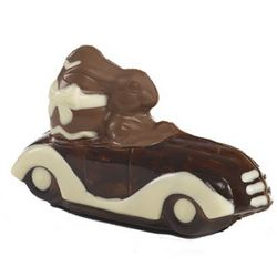 Cruisin' Chocolate Easter Bunny