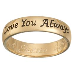 Love You Always Sentiment Ring