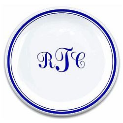Personalized Monogram Plate