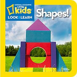 Little Kid's Look and Learn Shapes Board Book