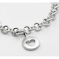 Classic Heart Charm Bracelet