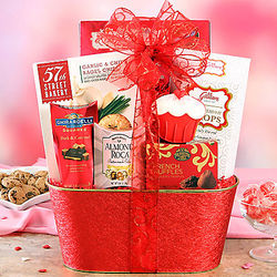 Valentine Assortment Gift Basket