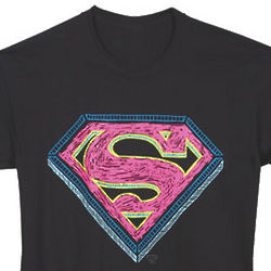 Superman Scribble T-Shirt