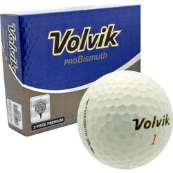 Personalized ProBismuth White Golf Balls