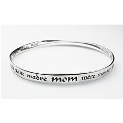 Languages of Mom Bracelet
