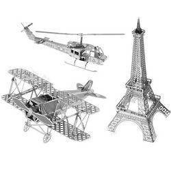 Metal Works 3D Laser Cut Model
