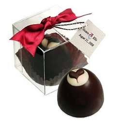 Chocolate Heart Truffle Bon Bon Box