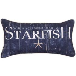 Wish Upon a Starfish Pillow