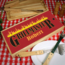 Personalized Grillmaster Grilling Tool Kit