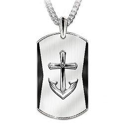Son's Anchored in Faith Pendant